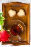 Hälsningkort för dag för St-valentin` s Royaltyfria Foton