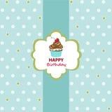 Hälsningkort för lycklig födelsedag stock illustrationer