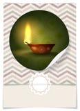 Hälsningkortdesign, mall Arkivfoton