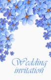 Hälsningkortet, vattenfärg, kan användas som inbjudankortet för att gifta sig, födelsedagen och annan ferie och sommarbakgrund stock illustrationer