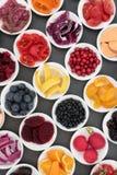 Hälsokost som är hög i Antioxidants Royaltyfri Bild