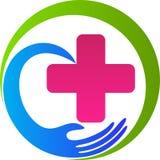 Hälsovård plus royaltyfri illustrationer