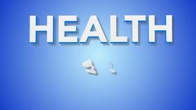 Hälsovårdtecken lager videofilmer