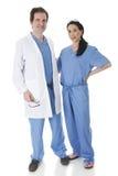 Hälsovårdvänner arkivfoto