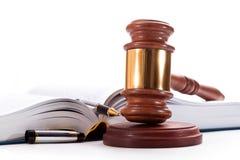 Hält Rechtsanwalt instand Stockfoto