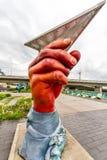 Hände überall in der Gemeinschaft Lizenzfreie Stockbilder