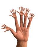 Hände lizenzfreie abbildung