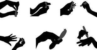 Hände vektor abbildung