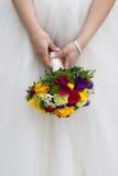 Hände der Braut und des Bräutigams Lizenzfreie Stockbilder