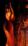 Hände der Buddha-Statue Lizenzfreies Stockfoto