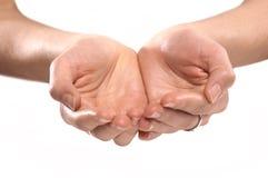 Hände der Frauen Lizenzfreies Stockfoto