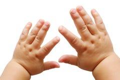 Hände der Kinder Stockfotografie