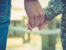 Hände der Liebe Lizenzfreie Stockfotografie