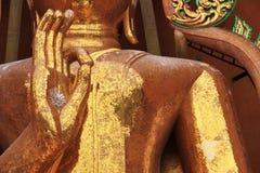 Hände des Buddhas Stockfoto