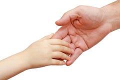 Hände des Schätzchens Stockbild