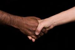 Hände Frau und Mann Stockbilder
