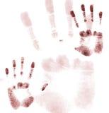 Hände oben stock abbildung
