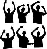 Hände oben Lizenzfreie Stockfotografie