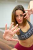 Hände schließen oben Lizenzfreie Stockfotos