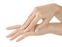 Hände und Finger Lizenzfreies Stockbild