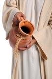 Hände von Jesus Stockbild