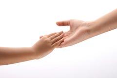 Hände zusammen Lizenzfreies Stockfoto