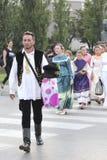 Händelse av den Vinkovci hösten Fotografering för Bildbyråer