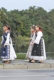 Händelse av den Vinkovci hösten Arkivbilder
