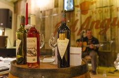 Händelse för vinavsmakning royaltyfria foton