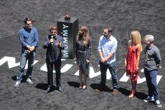Händelsen för mammafilmPromo i Hollywood royaltyfria foton