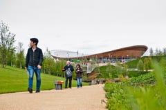 händelser olympic london förbereder provet Arkivfoto