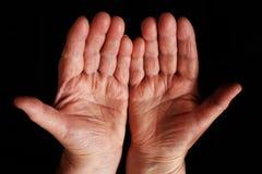 Händer arkivbild