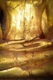 Händer av Buddhabilden Royaltyfri Foto
