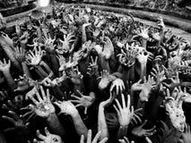 Händer av inferno Royaltyfria Foton