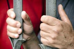 Händer av protesten Arkivbild