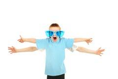 händer för pojke fyra Fotografering för Bildbyråer