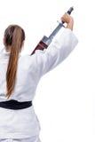 Händer och kampsporter Arkivbilder