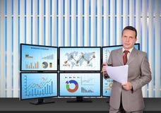 Händler und Handelsstation Lizenzfreie Stockfotografie