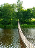 hänga för bro Royaltyfria Bilder