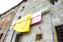 hänga för kläder Fotografering för Bildbyråer