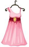hänga för klänning vektor illustrationer