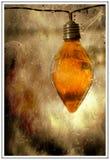 Hänga för ljus kula royaltyfri fotografi