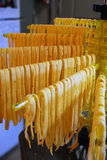 Hänga för pasta Royaltyfria Foton