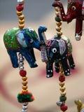 Hängande elefant Fotografering för Bildbyråer
