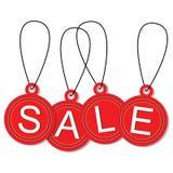 Hängande försäljningsetiketter 2 royaltyfri illustrationer