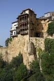 Hängande hus - Cuenca - Spanien Fotografering för Bildbyråer