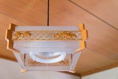 Hängande japansk lampa Royaltyfri Bild