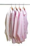 Hängande kläder Arkivfoto