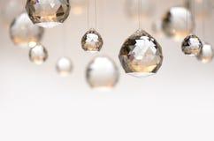 Hängande kristallkulor Fotografering för Bildbyråer