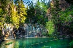 hängande lake Arkivfoton